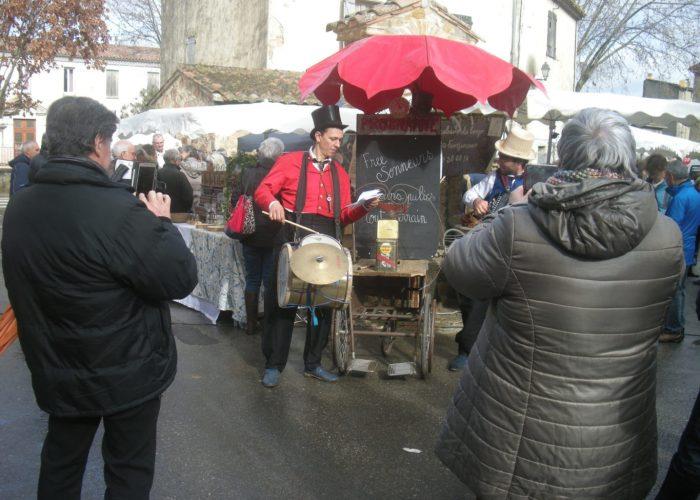 spectacle de rue les free sonneurs