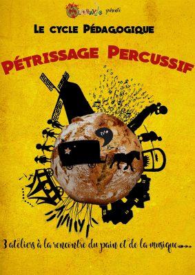 affiche pétrissage percussif
