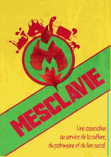affiche compagnie mesclavie