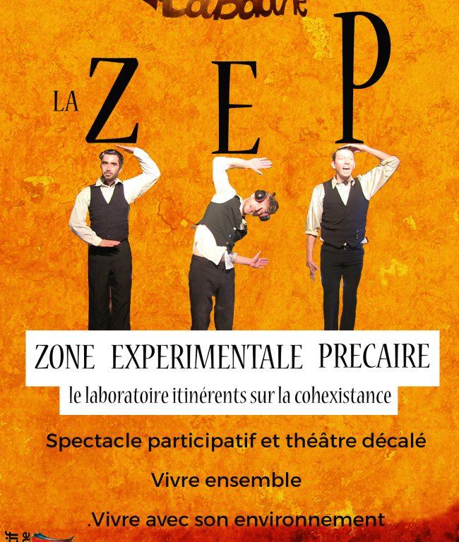 affiche spectacle la zep